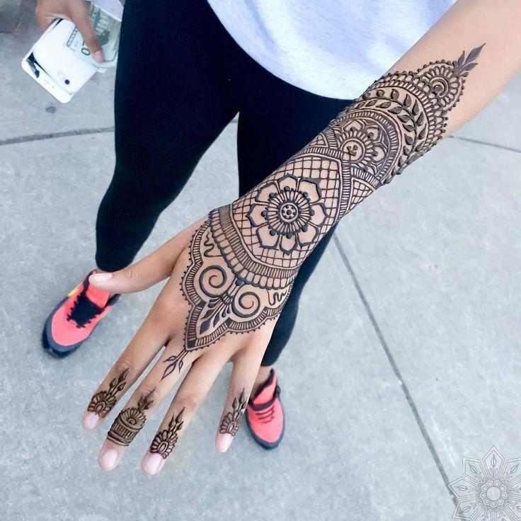 24 Henna Tattoos by Rachel Goldman You Must See