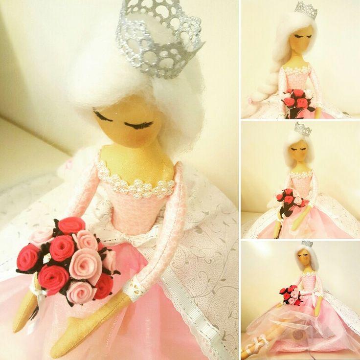 My new handmade doll - Princess 👑❤