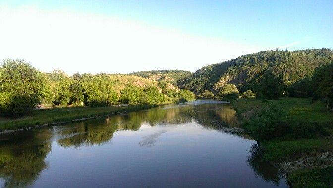 Berounka river, Czech Republic #afterwork