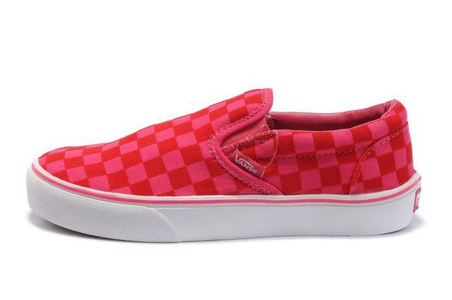 5ed742994dc Women Slip-On Classic Red Plaid  LYF3sd  -  39.99   Vans Shop