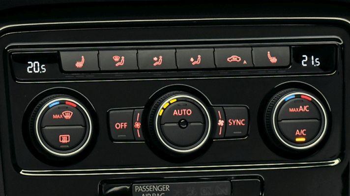 Volkswagen Beetle Sistema de aire acondicionado Climatronic