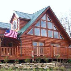 Linville Series - modular log home (from Campobello, SC)
