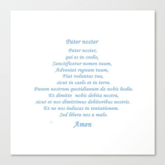 Prayer Catholic to God the Father in latin Pière catholique envers Dieu le père en latin