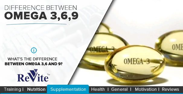Ever wondered what the differences are between OMEGA 3,6 and 9? Find out..