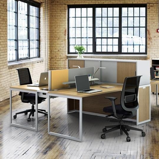 Discover all the information about the product workstation desk wooden contemporary commercial tour bench turnstone and find where you can buy it