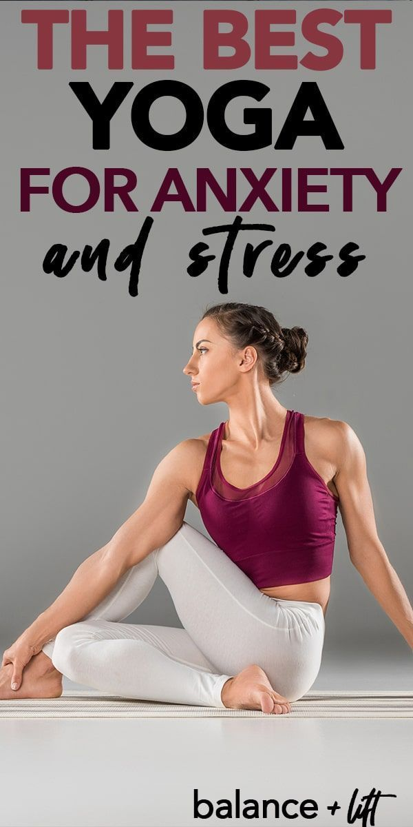 Beginners Yoga for Anxiety & Stress