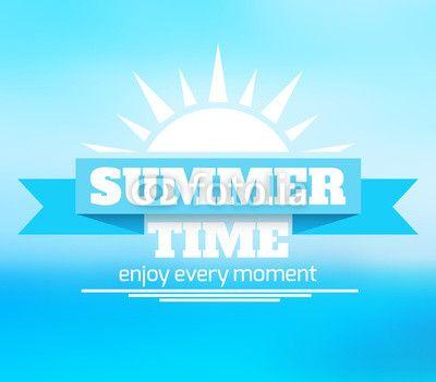 Wektor: Summer background
