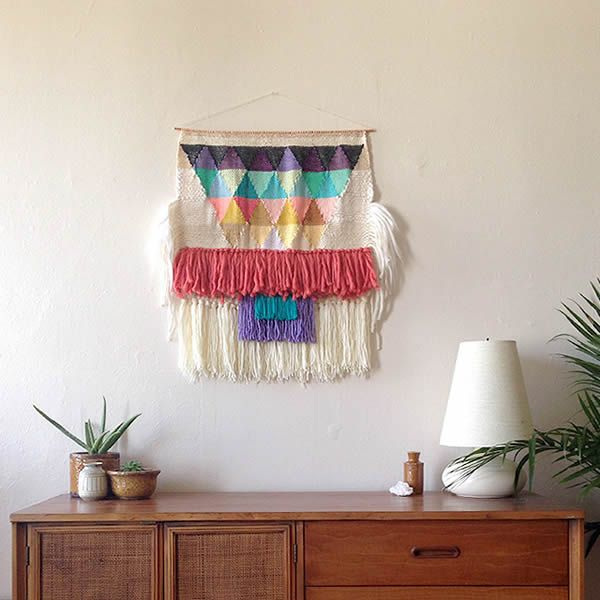 Wool wall hangings #wall #hangings #decoration