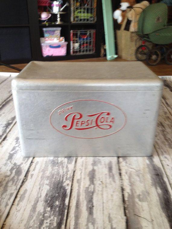 Vintage Cooler for Post-Ceremony Drinks
