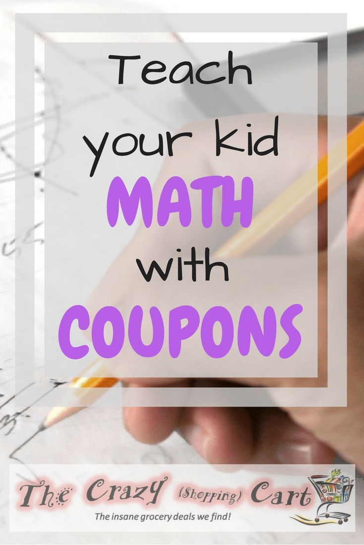Have a kid who's struggling in math?  Or wants to know when they'll ever use it in the real world?  Use coupons     Teach Your Kids Math With Coupons!