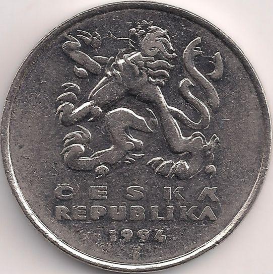 Motivseite: Münze-Europa-Mitteleuropa-Tschechien-Koruna-5.00-1993-2015