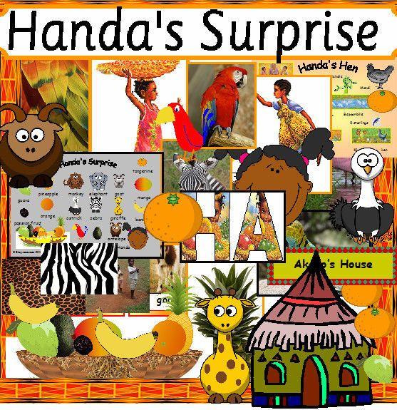 HUGE HANDA'S SURPRISE HANDAS HEN Story teaching resources for a sack EYFS KS1 in Everything Else, Educational | eBay