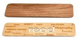 Resultado de imagen de wood bookmark