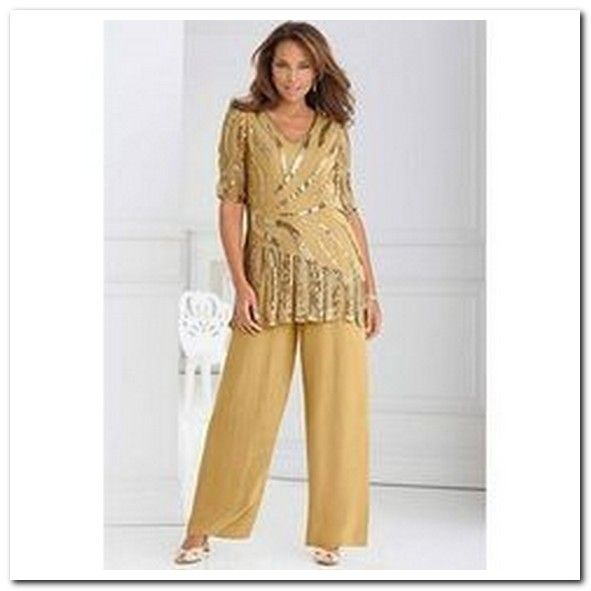 The 25 best dressy pant suits ideas on pinterest for Dress pant suits for weddings plus size