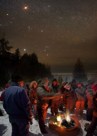New International Dark Sky Park opens in Michigan; Only nine others in the world : TreeHugger