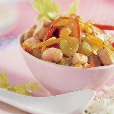 Gumbo uit New Orleans – groenten met garnalen en kip