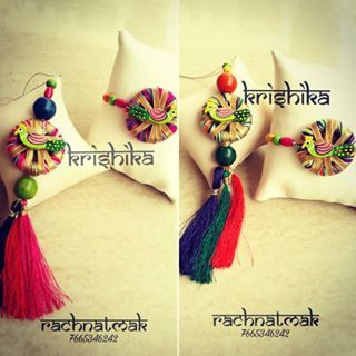 #couplerakhi #rakhicollection2017 #krishika  #rachnatmakrakhi  #rachnatmak  #rakhi #peacock #gota #colourfull