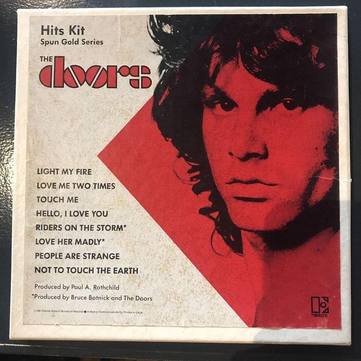 The Doors Hits Kit box set from Spun Gold series #thedoors #boxset #singles