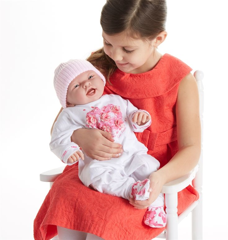 Berenguer Baby Dolls: Newborn Doll with Pink Outfit | JC Toys