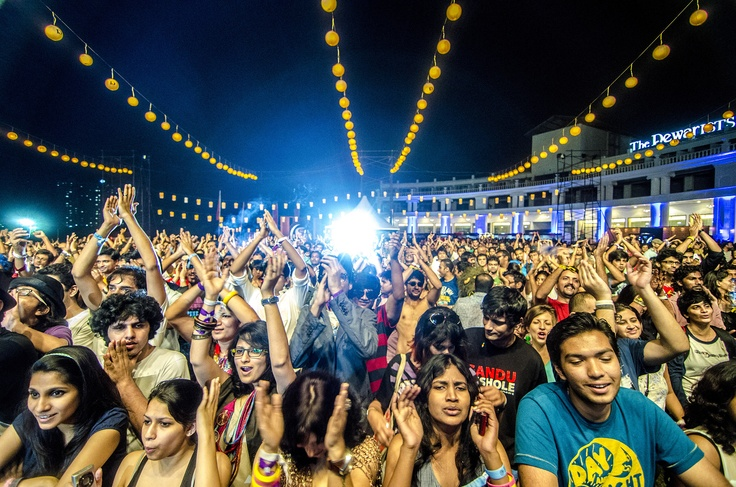 The happiest people at the Bacardi NH7 Weekender, Pune 2012.