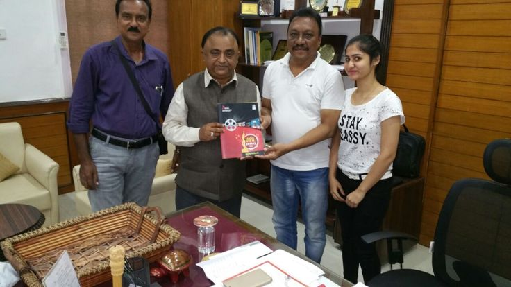 """It was honour to meet with """"Divisional Commissioner"""" of Nagpur . Thank you for his Great motivation and Guidance to team of """"Vidarbha Cine Artist association""""  and Best wishes for Upcoming Award Function 'VIFA"""" on 22nd October 2016 . A chance to mingle with the judges and experts and leaders in digital and traditional media. These might be an opportunities for artist and sponsors to get branding and show their talent in-front of many in future and present time also. Where we are going to…"""