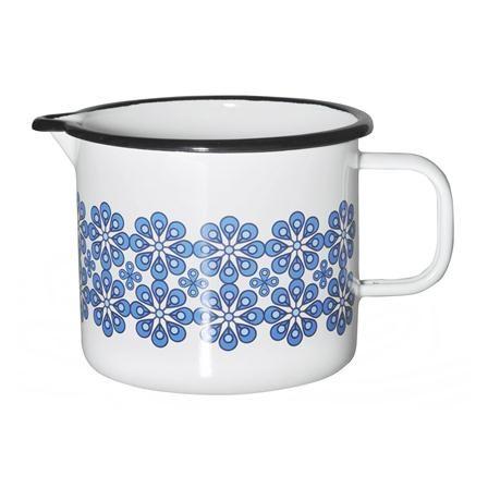 Muurla Blue Flowers Jug