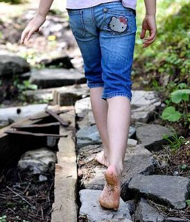 Enjoy going barefoot