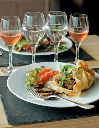 Restaurante del Eco-Hotel Spa en La Gacilly