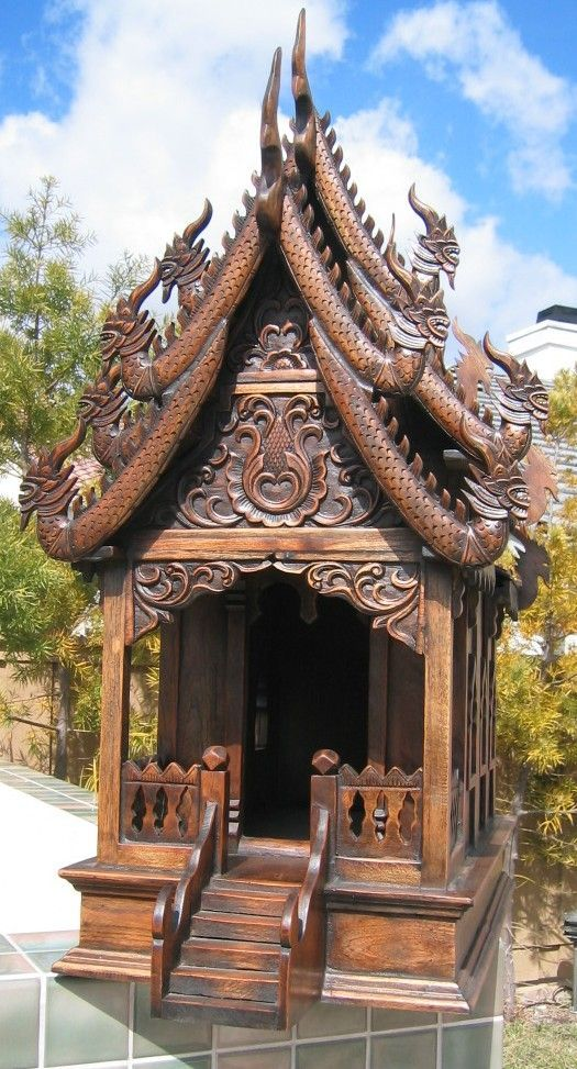 33 Best Images About Spirit Houses And Shrines On