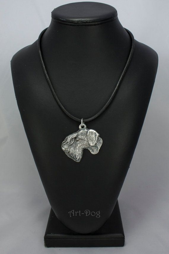 Cesky Terrier dog necklace limited edition by ArtDogshopcenter
