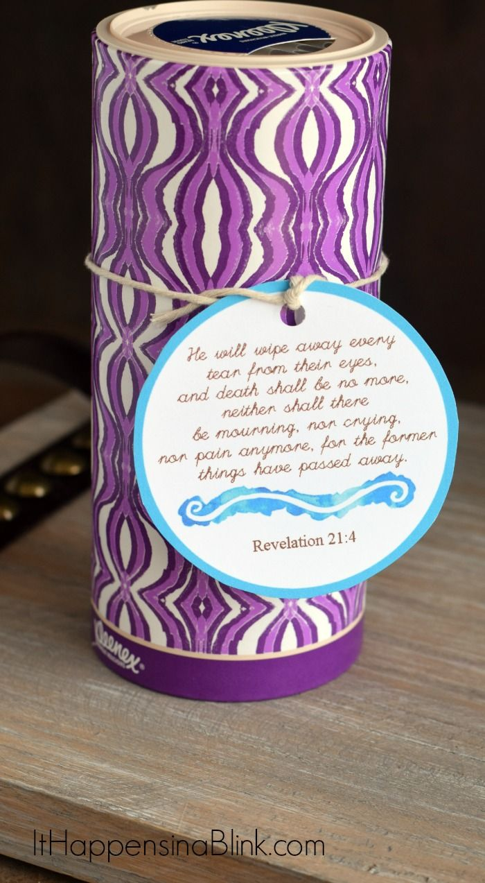 kleenex gift giving printables | #ad | need a quick, easy, and