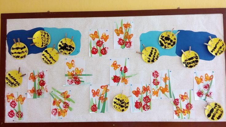Včielky, motýle, lienky