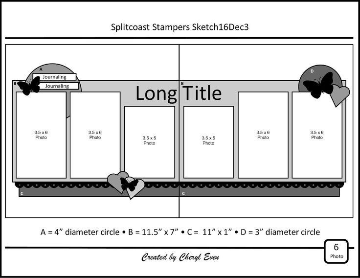 Connu 15952 best Scrapbooking layouts images on Pinterest | Scrapbook  HS07