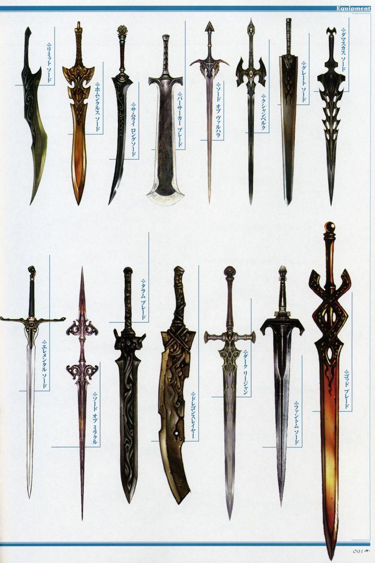Weapon Concepts — Lineage 2 Concept Art | Yep | Pinterest ...