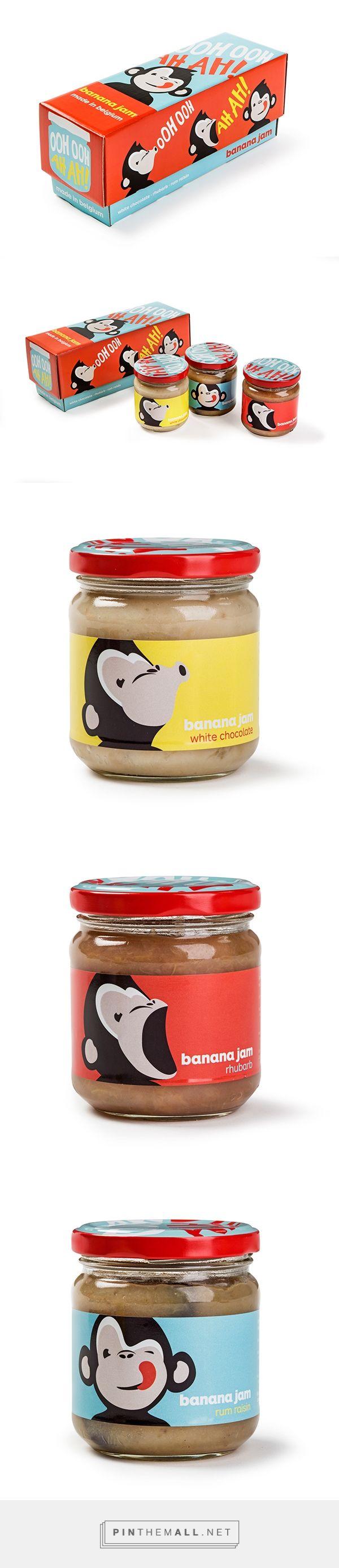 OOH OOH AH AH! Banana Jams on Packaging Design Served
