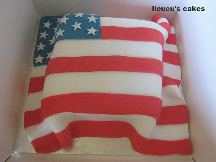 61 best my cake images on pinterest icing batman cakes for American flag cake decoration