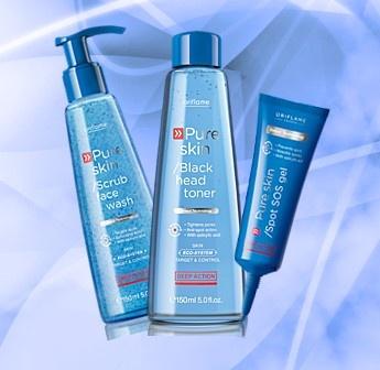 Gama de productos Pure Skin ideales para evitar o mejor las imperfecciones de los granitos, o espinillas!  NO esperes más prueba los productos ORIFLAME!