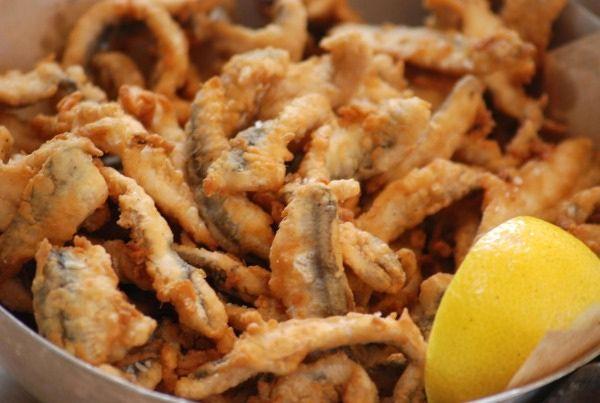 Top Greek dish: Fried fish