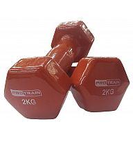 Виниловые гантели (пара) PROTRAIN HC4005-2