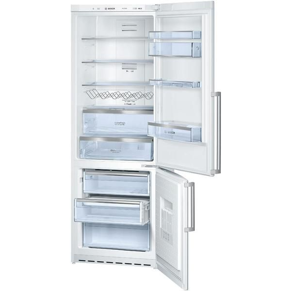 #Bosch KGN49AW24G White with 11% #OFF. Fridge: 307 L, Freezer: 82 L, Energy Efficiency: A+, Width: 70cm. Buy now at £604.  http://www.comparepanda.co.uk/product/12810048/bosch-kgn49aw24g-white