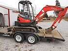 Kubota Excavator Super Series U25 and 18 Trailer