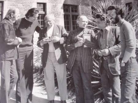 Gilles Deleuze, Jean-François Lyotard, Maurice de Gandillac, Pierre Klossowski, Jacques Derrida, Bernard Pautrat (Cerisy, 1972)