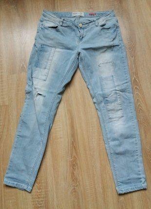 Kup mój przedmiot na #vintedpl http://www.vinted.pl/damska-odziez/dzinsy/17137507-spodnie-typu-boyfriend-kupione-w-house