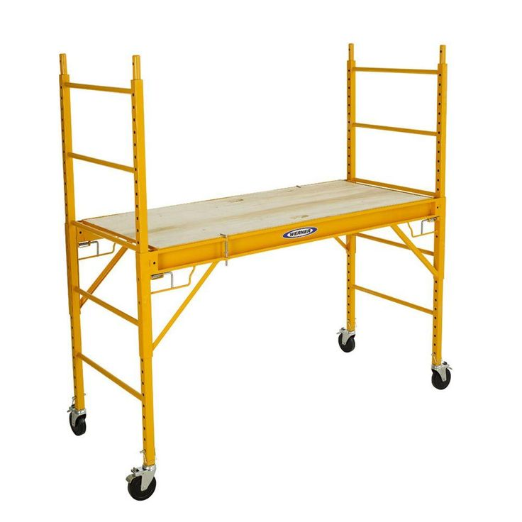 Portable Scaffolding With Wheels : The best rolling scaffold ideas on pinterest