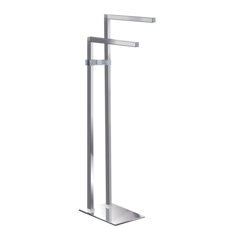 Floor Standing Towel Racks | Gedy 3731 13 Jenny Towel Stand