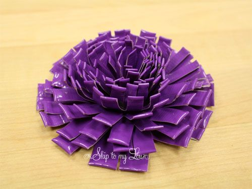 http://rhondarowley.hubpages.com/hub/How-to-Make-a-Duct-Tape-Rose-Bridal-Bouquet