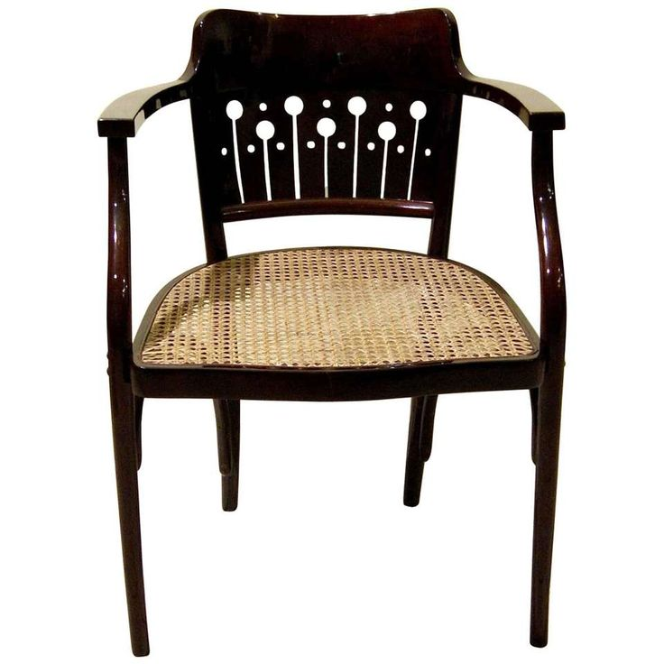 thonet vienna art nouveau otto wagner armchair number circa