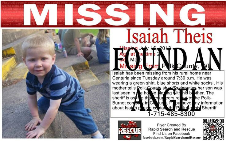 """Found an Angel To assist with Amber Alerts and missing person cases through flyer and picture sharing on Facebook please """"Like"""" Rapid Search and Rescue on Facebook: facebook.com/RapidsSAR Follow us on twitter also @Rapid_SAR"""