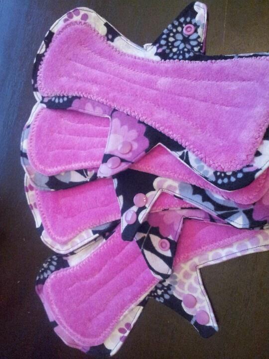 mama cloth/reusable menstrual pads