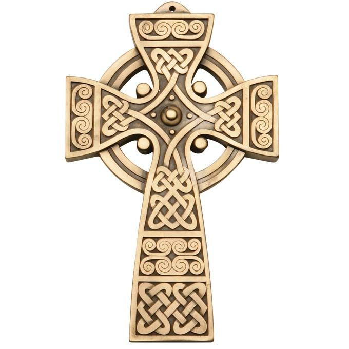 The bronze cross of hope is is quintessentially Irish.